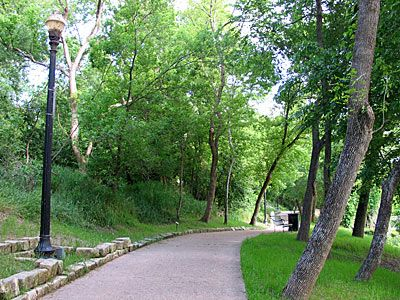 June Hill Pape River Walk in Bastrop, Texas - along the ...