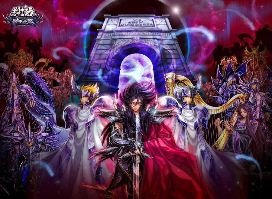 Hades Y Su Ejercito Wallpaper Saint Seiya By Obedragon Saint Seiya Hades Anime