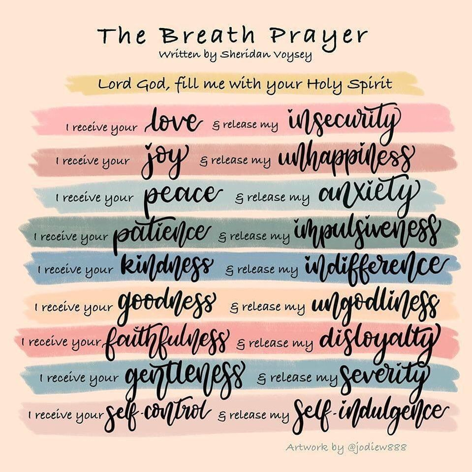"""Mindful Christianity Today on Instagram: """"Everytime you breathe"""