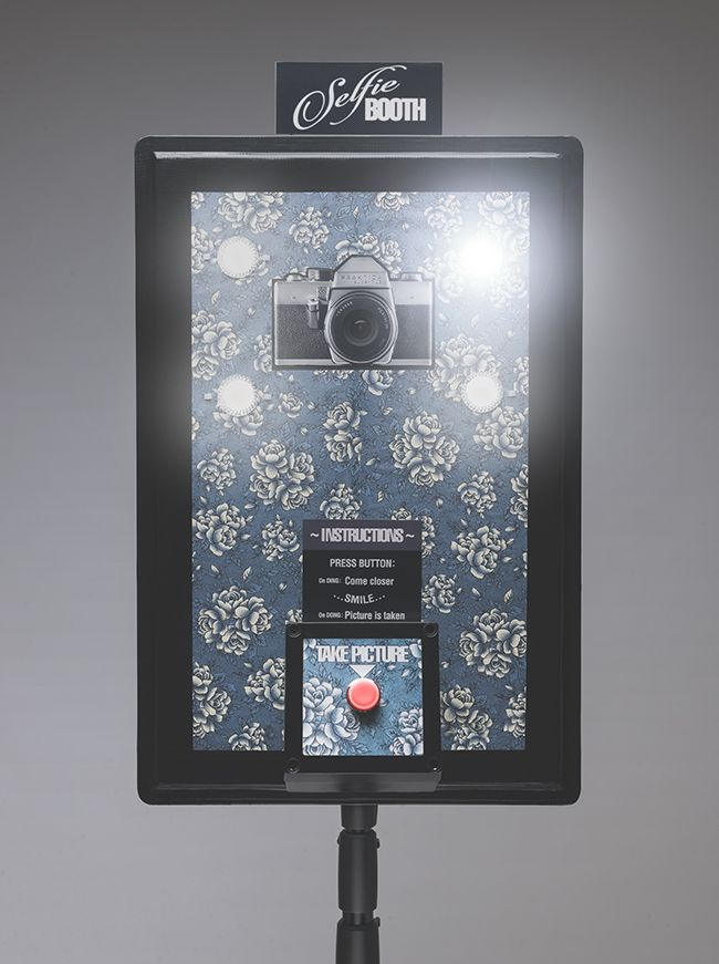 Building a photo booth using a gopro camera some led lights and a the finished selfie booth photo booth in retro style with illuminated button and lights the diy photo booth is build around a gopro hero black edition solutioingenieria Images