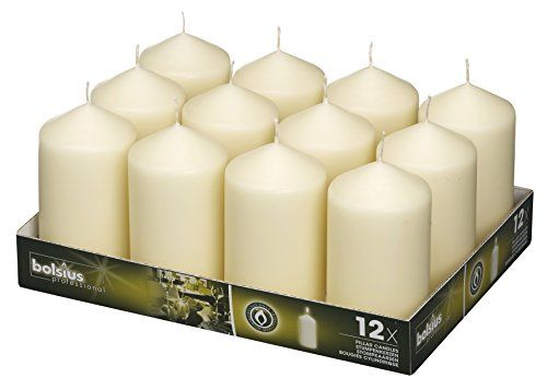 Bolsius Flame Floating Ivory Candles For Wedding Home Decoration ALL PACK SIZES