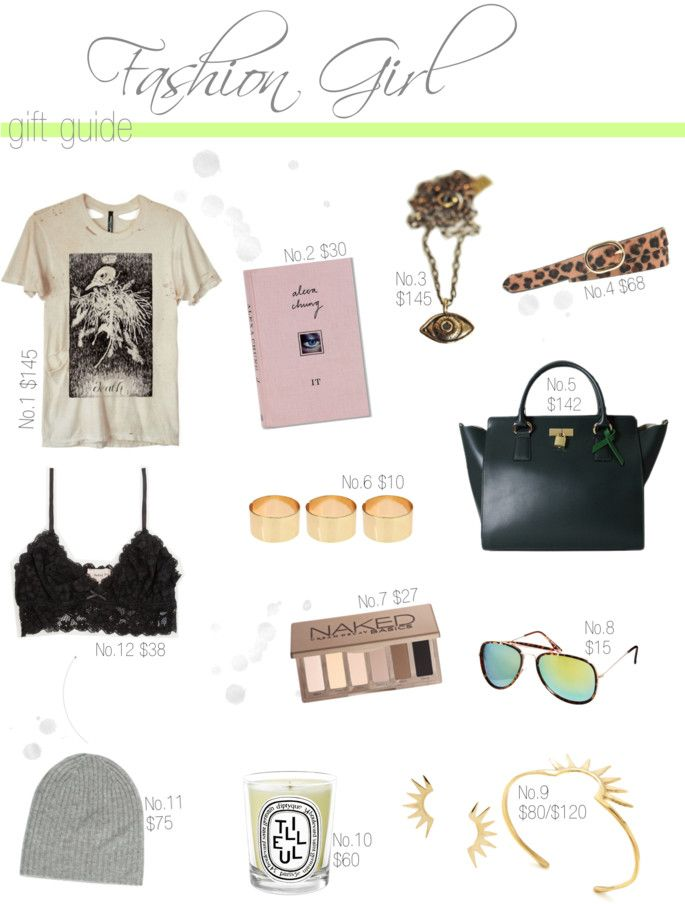 Gift Guide for the Fashion Girl | 10 Best Gifts for the girl who loves fashion