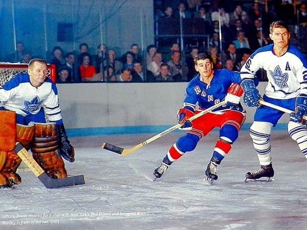 Johnny Bower & Allan Stanley