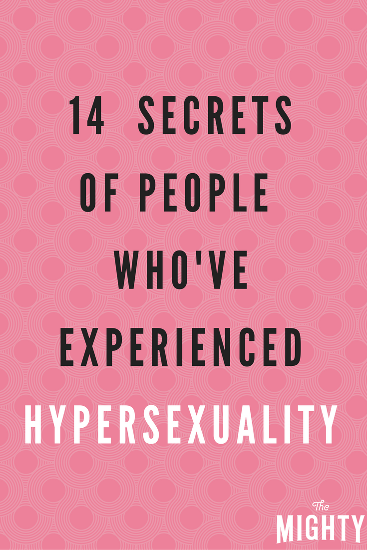 Hypersexuality bipolar disorder forum