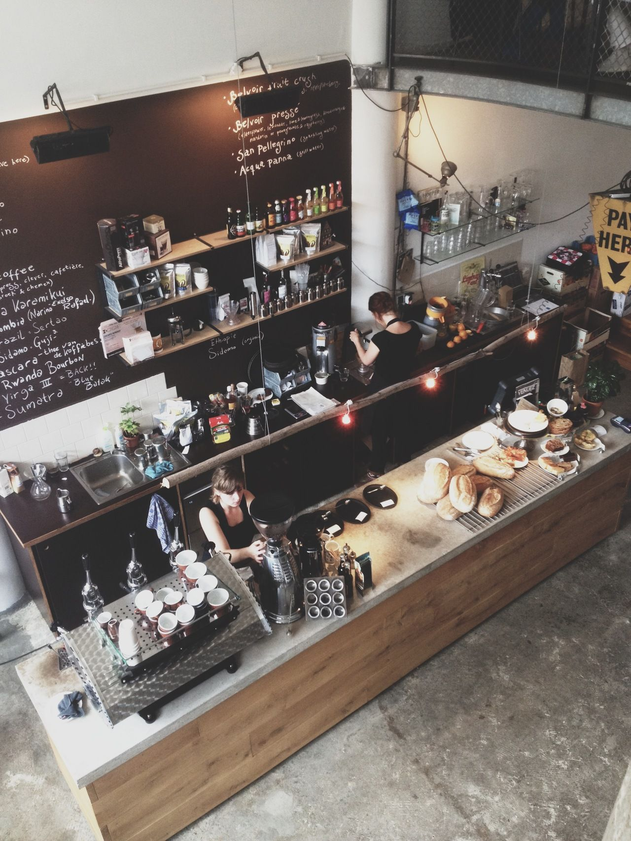 Hopper Coffee | Rotterdam cool bar layout, but how does ...