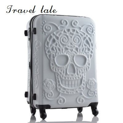 Photo of Travel tale personality fashion 19/24/28 Inch Rolling Luggag…