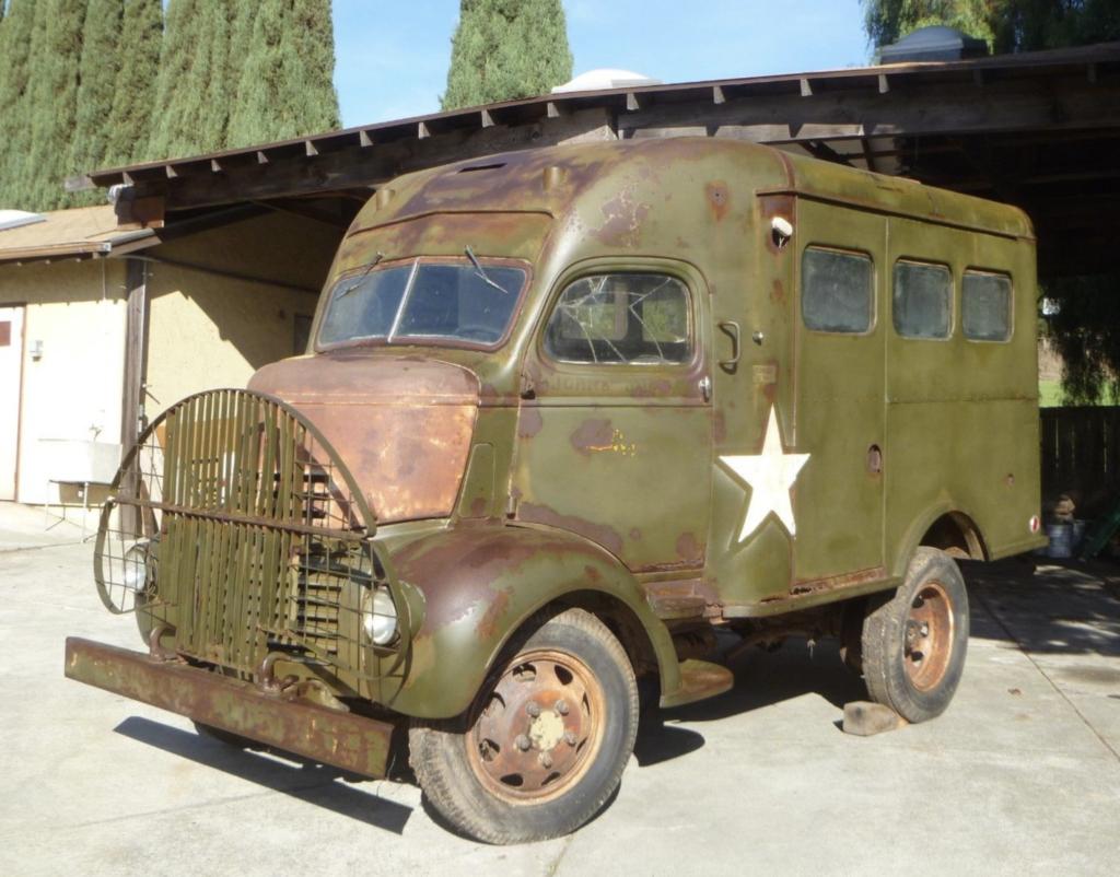 Signal Corps Radio Truck: 1941 GMC K-18 Project | camper | Pinterest ...