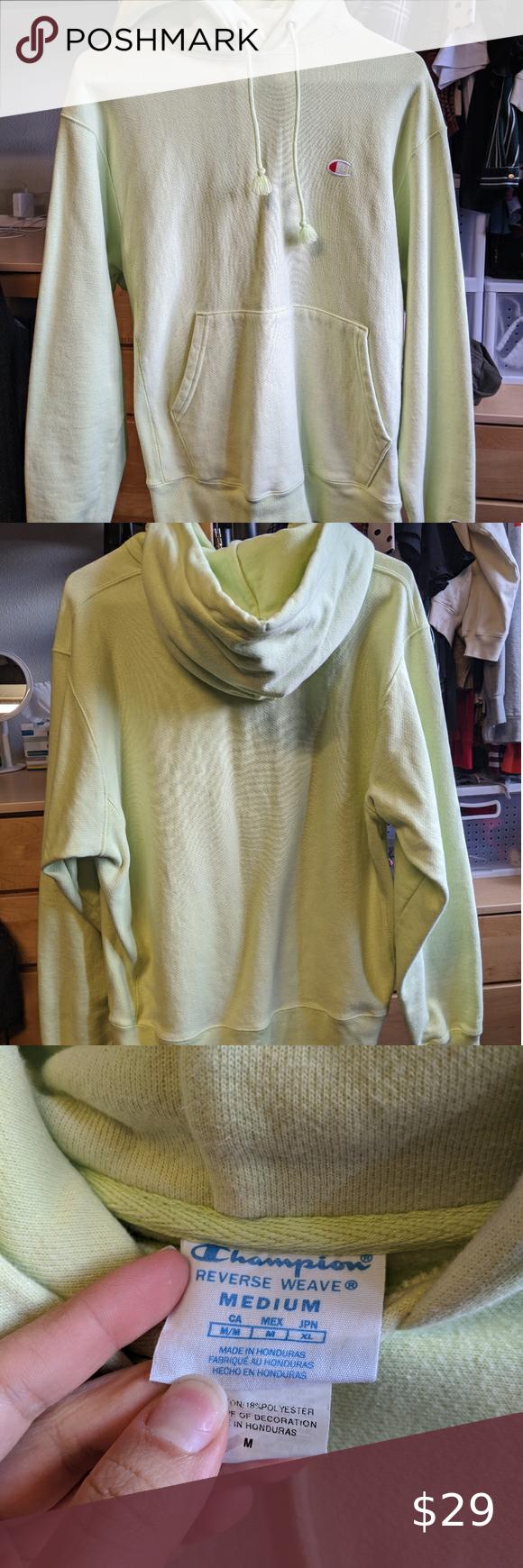 Champion Reverse Weave Hoodie Champion Reverse Weave Urban Outfitters Looks Sweatshirt Tops [ 1740 x 580 Pixel ]
