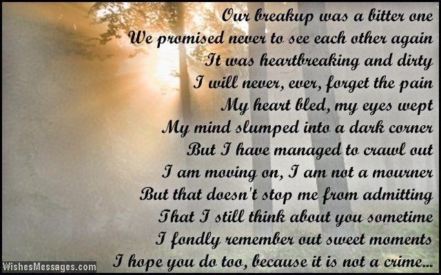I miss you poems for ex-boyfriend | Missing you poems, I
