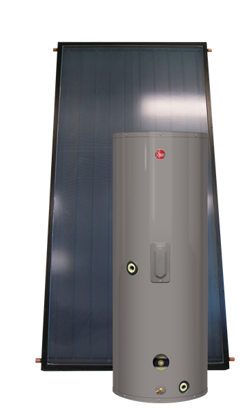 Rheem Solar Water Heaters Solpak The Solpak Series Is An Active Solar Water Heating System Solar Water Heating System Solar Water Heating Solar Water Heater
