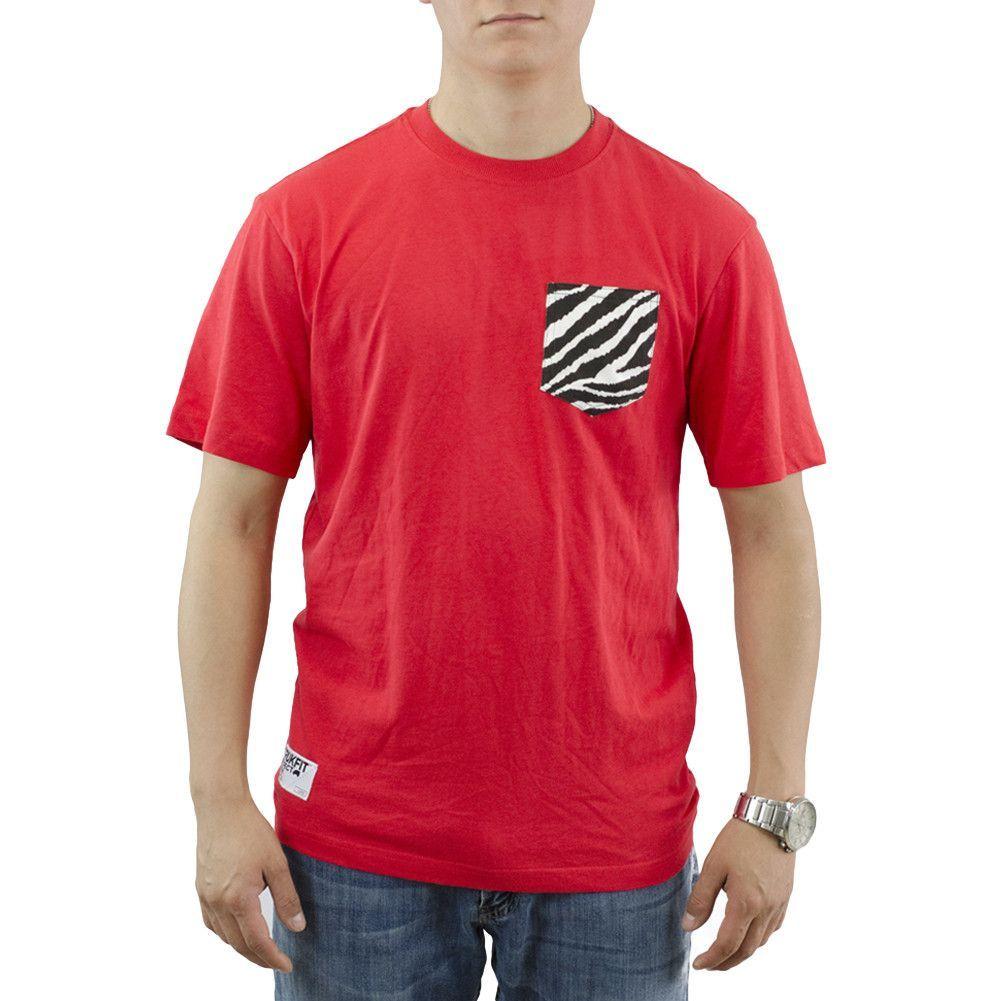 Trukfit Zebra Pocket Red T-shirt