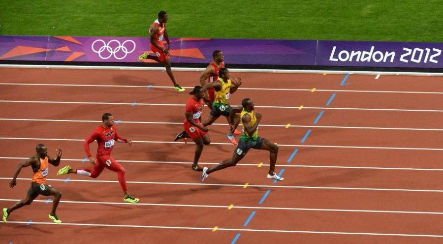 Agosto 5 De 2012 Usain Bolt Der Gano La Final De Los 100 Metros Planos La Llamada Prueba Reina Del Atletismo Donde Ad Atletismo Juegos Olimpicos Deportes