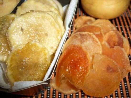 Чипсы из репы и кольраби - рецепт с фото на Хлебопечка.ру ...