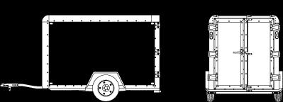 Dimensions Of 5x8 Trailer Cargo Trailers Cargo Trailer