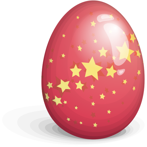Http Www Free Icons Download Net Images Red Stars Logo Easter Egg Icon 18378 Png Red Star Logo Easter Eggs Christmas Bulbs