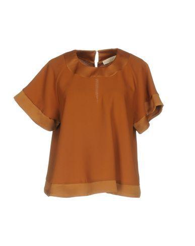 VICOLO Women's Blouse Brown S INT