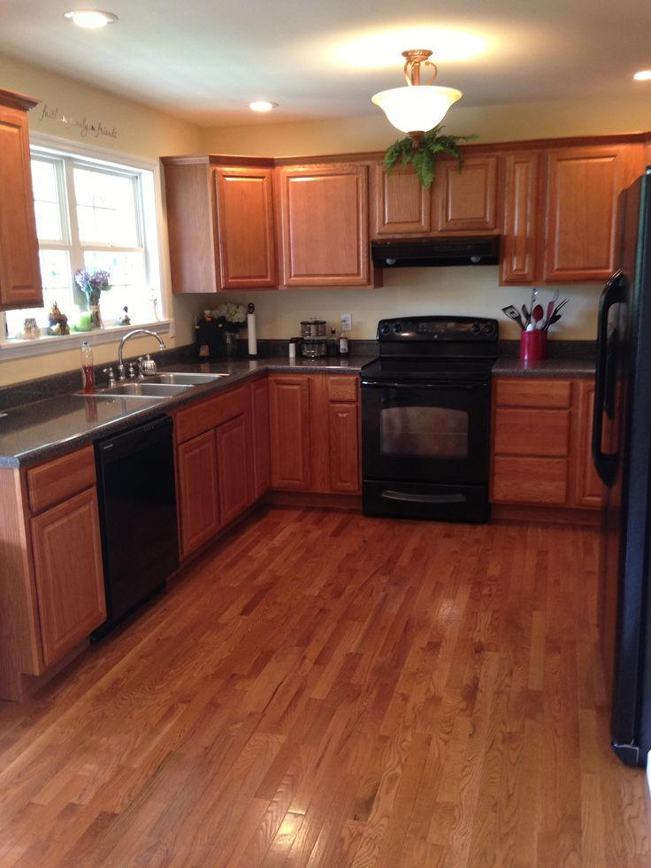 Kitchen Color Schemes With Black Liances Design Ideas