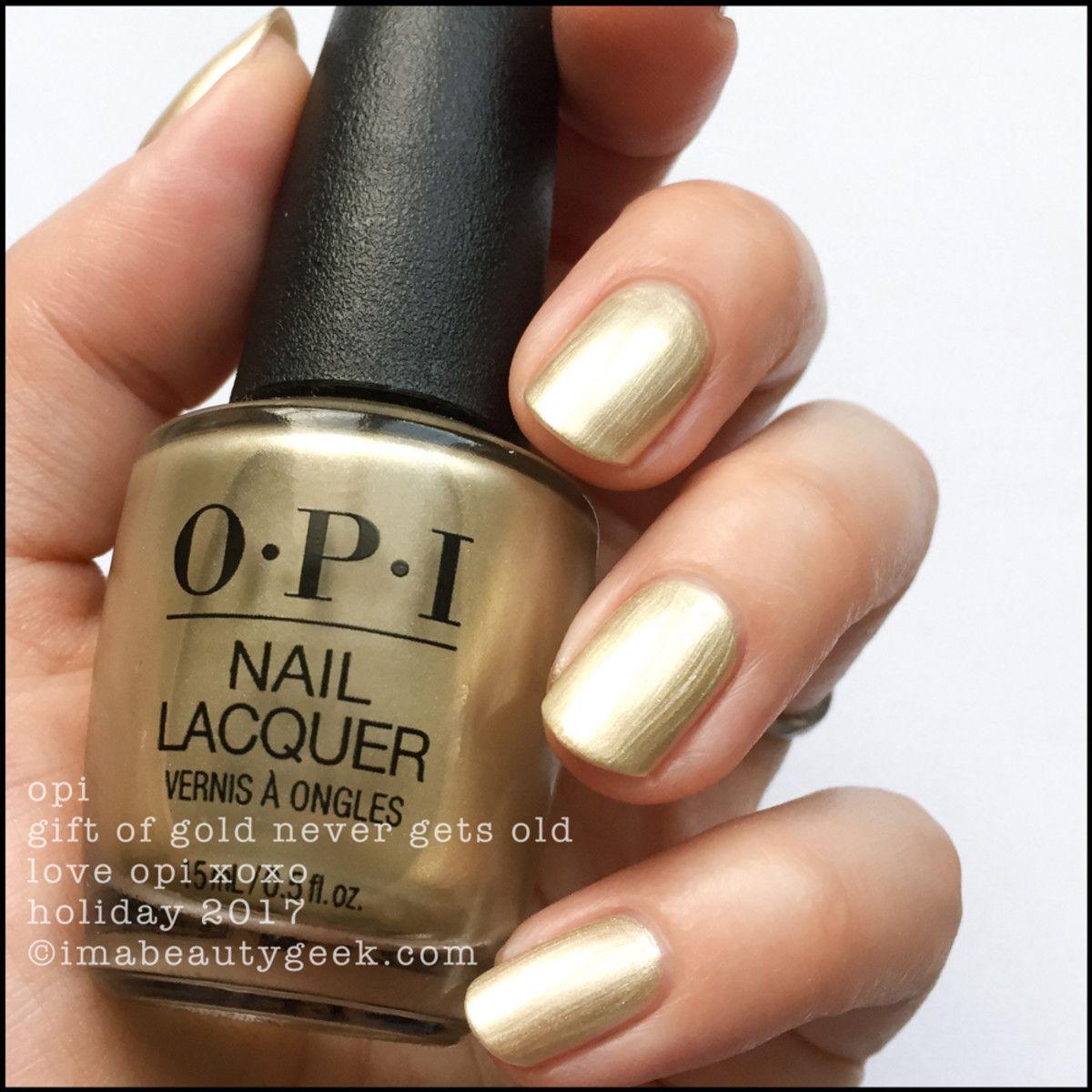 Nail gold polish opi exclusive photo