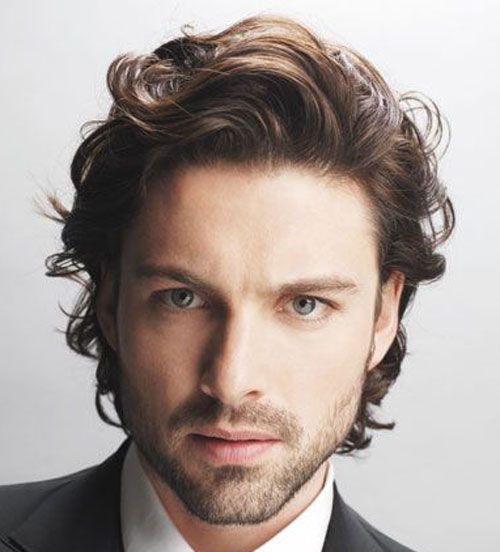 50 Best Business Professional Hairstyles For Men 2020 Styles Wavy Hair Men Long Hair Styles Men Medium Length Hair Styles