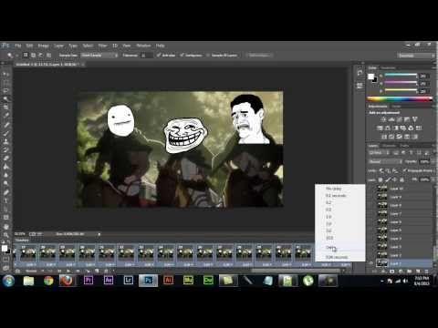 Adobe photoshop cs6cc how to make an animated gif youtube adobe photoshop cs6cc how to make an animated gif youtube negle Image collections