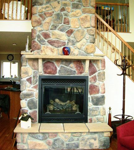 Gas Stone Fireplace indoor stone fireplace designs | design ideas exterior stone
