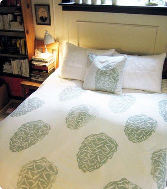 All About Block Printed Textiles Inspiration Diy Tips Diy Prints Diy Duvet Duvet Cover Diy
