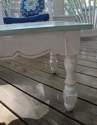 DIY Coffee table distressed #DIY