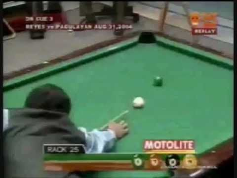 Incredible Pool Shot Ever from Efren