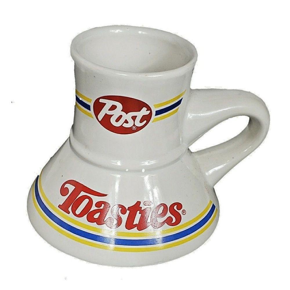 Post Toasties cereal advertising Promo Mug Wide Base