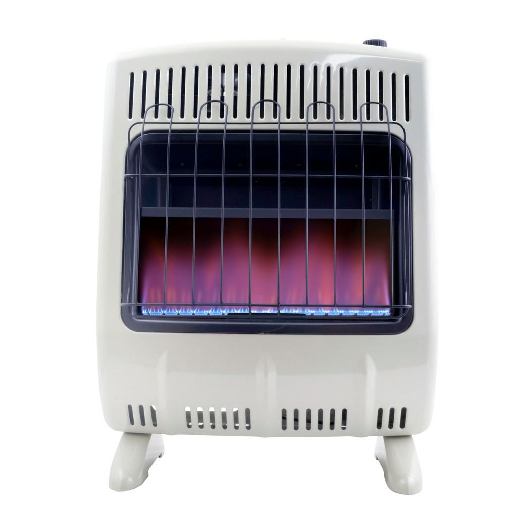 avenger dual fuel vent free blue flame heater