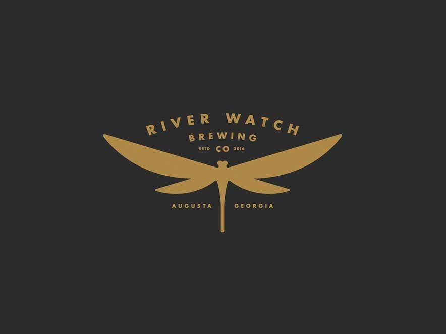 Dragonfly Logo by Jason Craig - River Watch Brewery ... | logo ...
