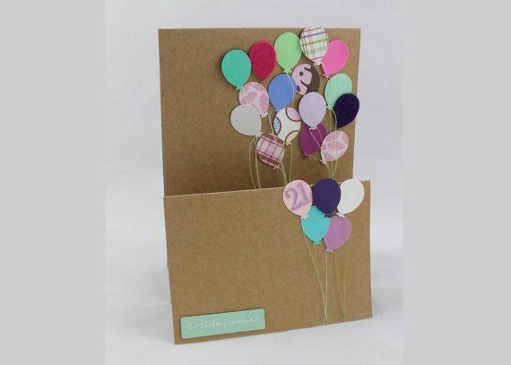 Handmade 21st Birthday Card Female Celebrate Create Pinterest