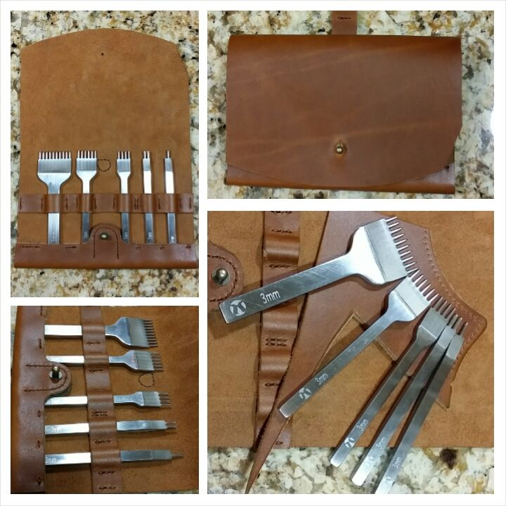 How Do You Store Your Pricking Irons? - Leatherwork Conversation - Leatherworker.net