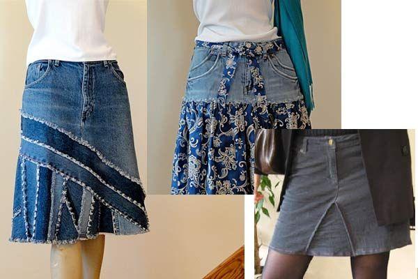 recyclez vos vieux jeans mode sewing jeans jeans refashion et denim crafts. Black Bedroom Furniture Sets. Home Design Ideas