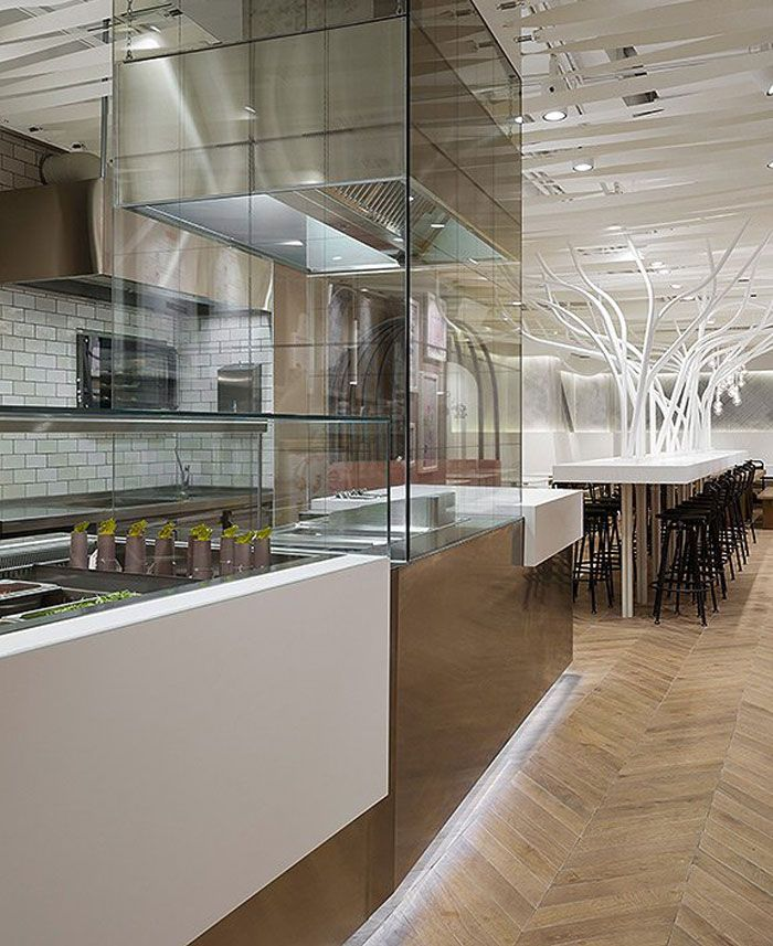The Images Collection Of Open Kitchen Restaurant Decor: Open Kitchen Restaurant, Restaurant