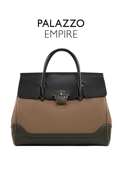 31fa69cb67b5  p Large dual-carry style bag from the Palazzo Empire line crafted in  superiorly supple calf leather