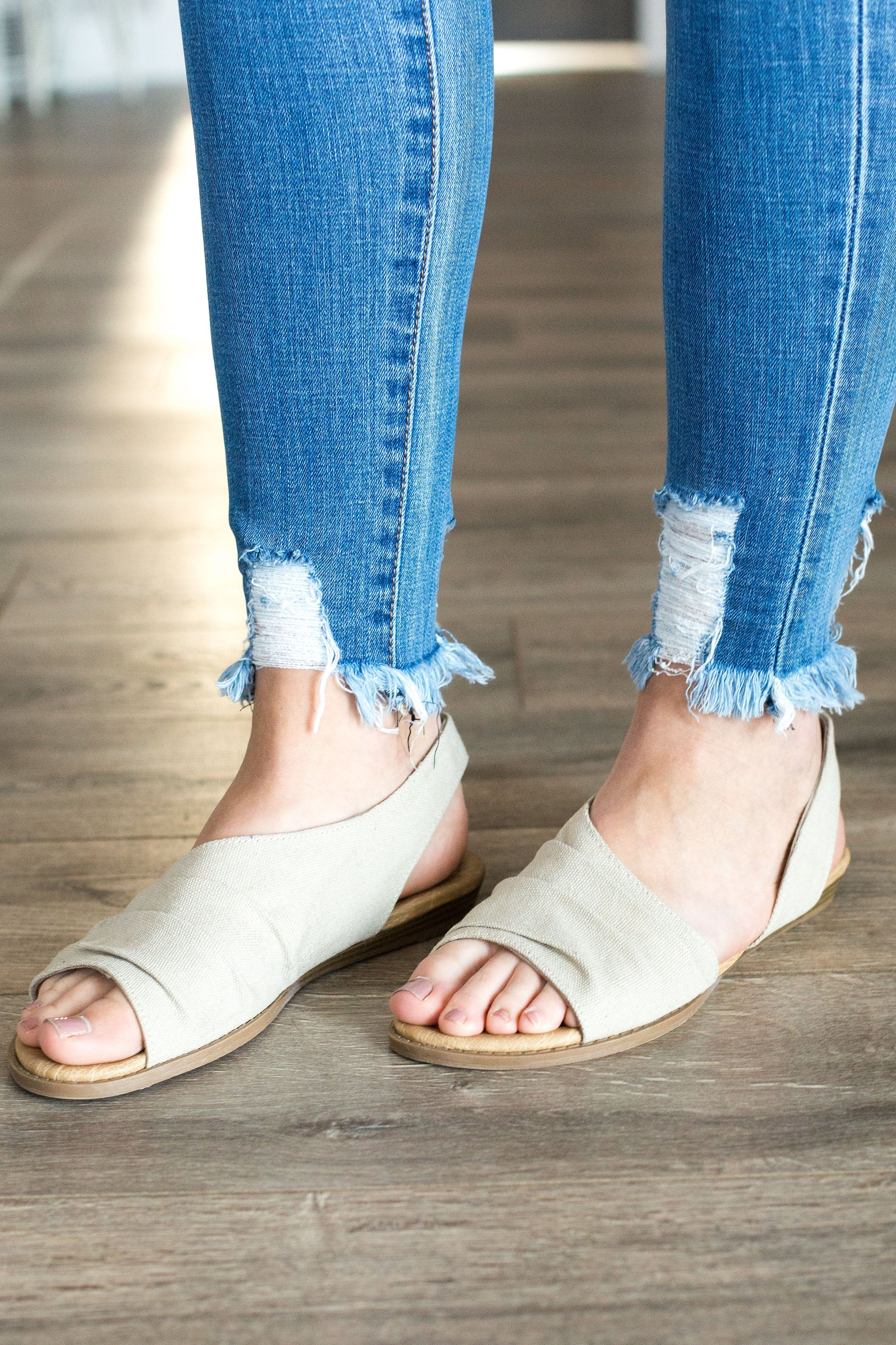 23d175c6f0b2 Not Rated Shanti Sandal - Cream Top Rated