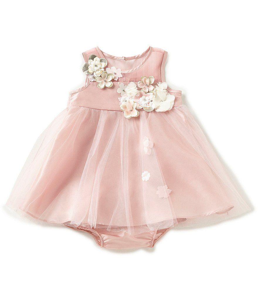 Baby Girl Flower Applique Tulle
