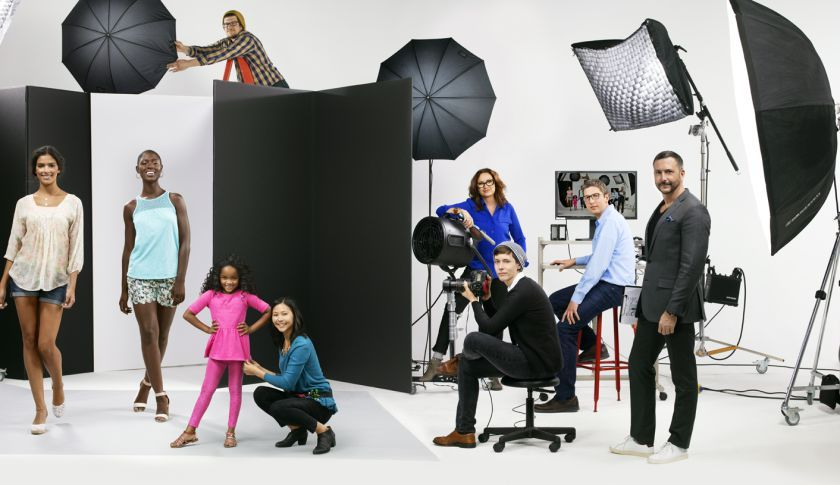 Kohl's 100,000squarefoot photo studio, which is near its
