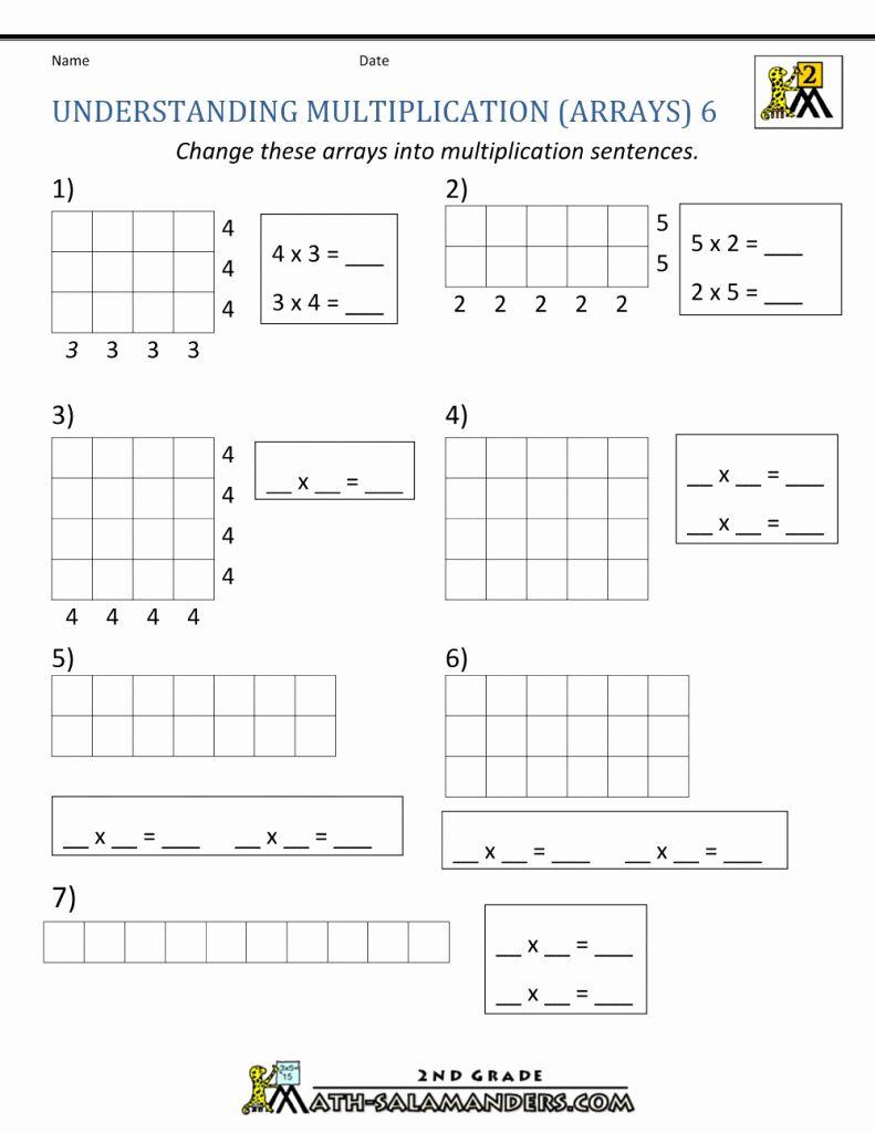 Box Method Multiplication Worksheet Elegant Box Method Multiplication Worksheets The Best Work In 2020 Array Worksheets Multiplication Arrays 3rd Grade Math Worksheets