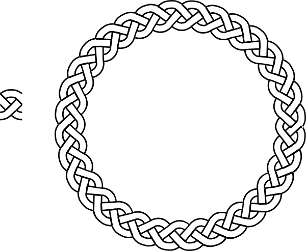Rope border png clipart best celtic knot pinterest