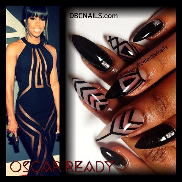 Celeste Hampton | Oscar Ready did my fellow #Virgo boo nails ...