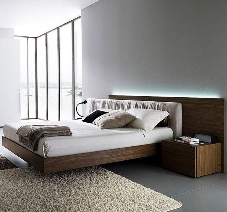 35 Good Contemporary Floating Bed Design Ideas Bed Design Bed