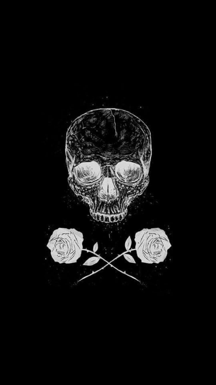 Pin by Shannon Swart on Lockscreens Skull wallpaper