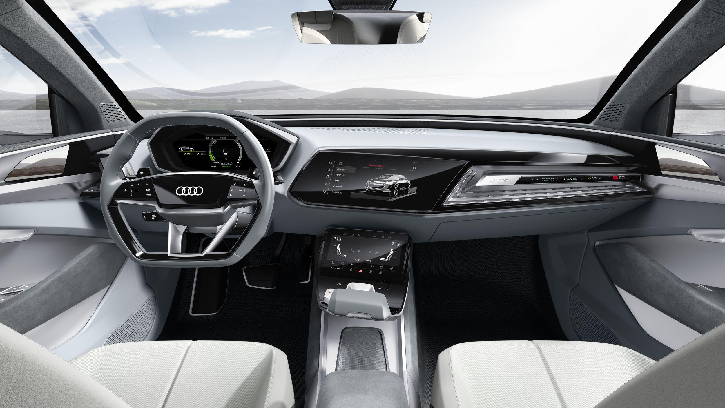 Audi e tron sportback concept previews 2019 production model