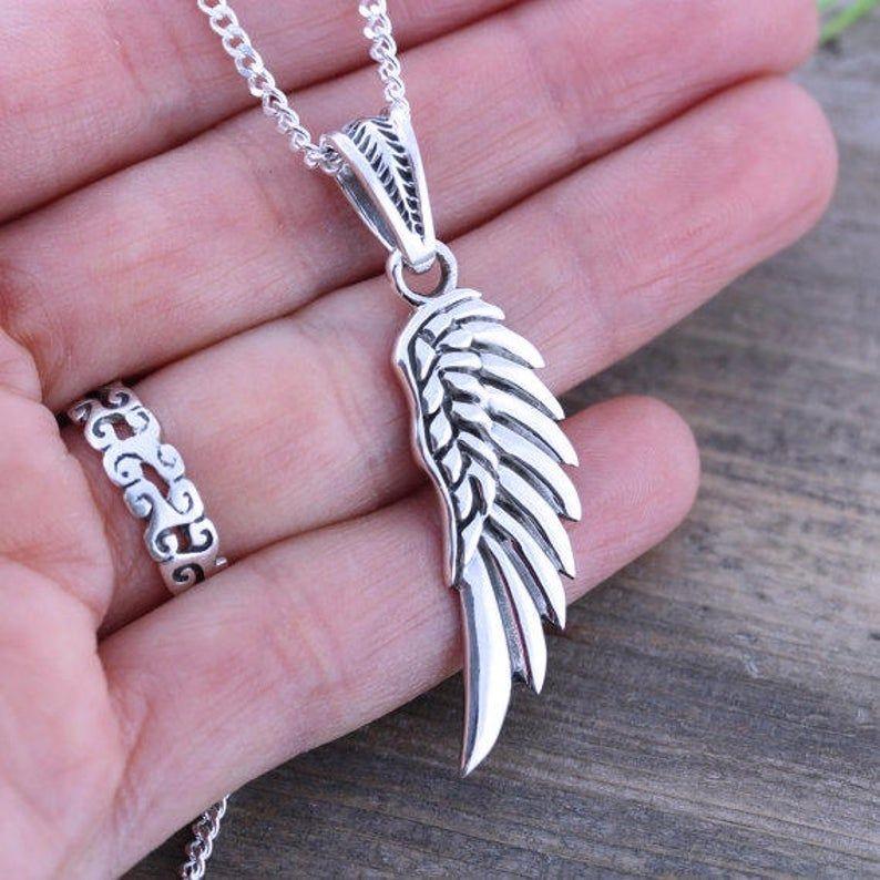 39+ Sterling silver angel wing jewelry ideas