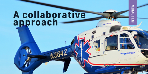 Interview Tina Giangrasso Air Methods Airmed And Rescue Magazine Medical Safety Emergency Medical Airway Management