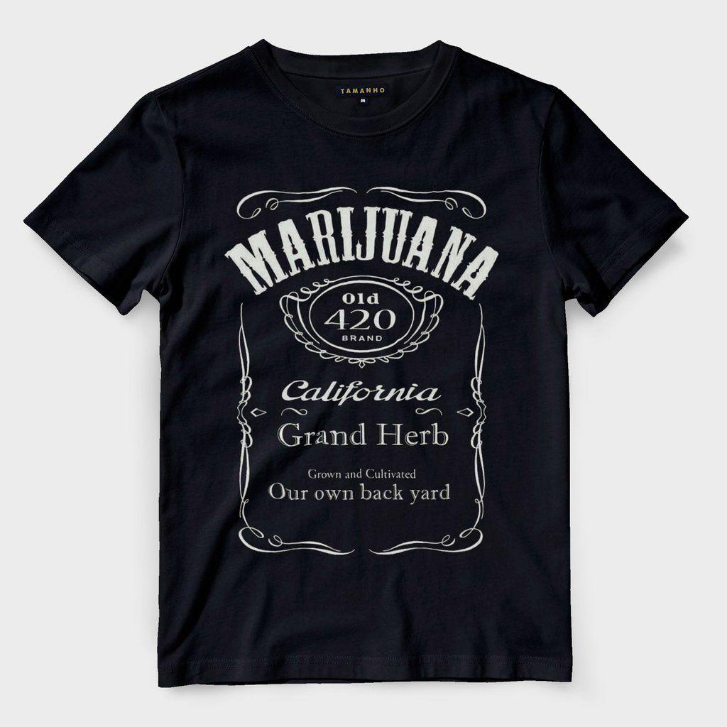 93fcdb9e7e camiseta chronic marijuana preta camisa masculina weed | Camisetas ...