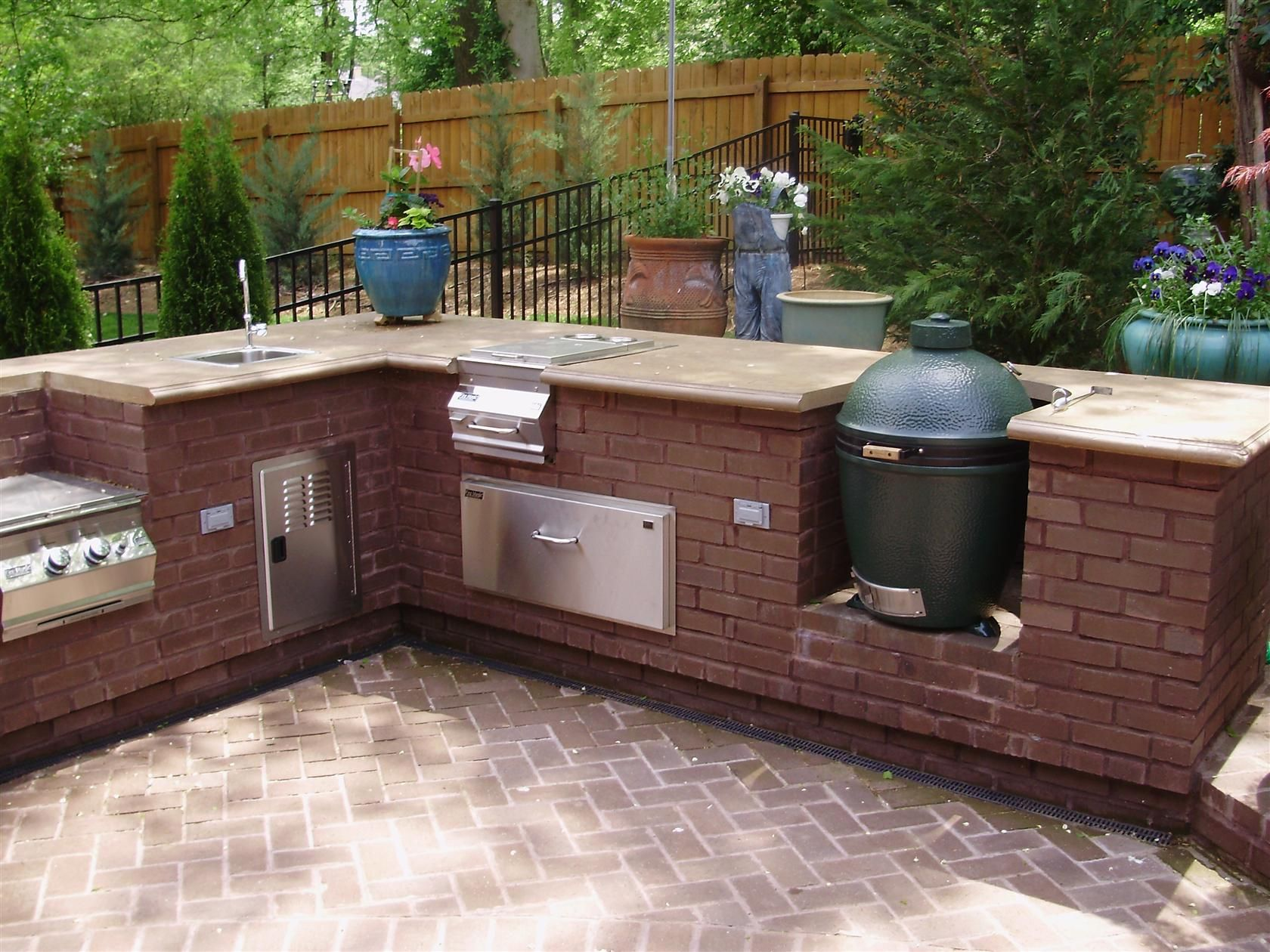 Metro Atlanta And West Georgia S Premier Builder Service And Pool Store Outdoor Kitchen Big Green Egg Green Eggs