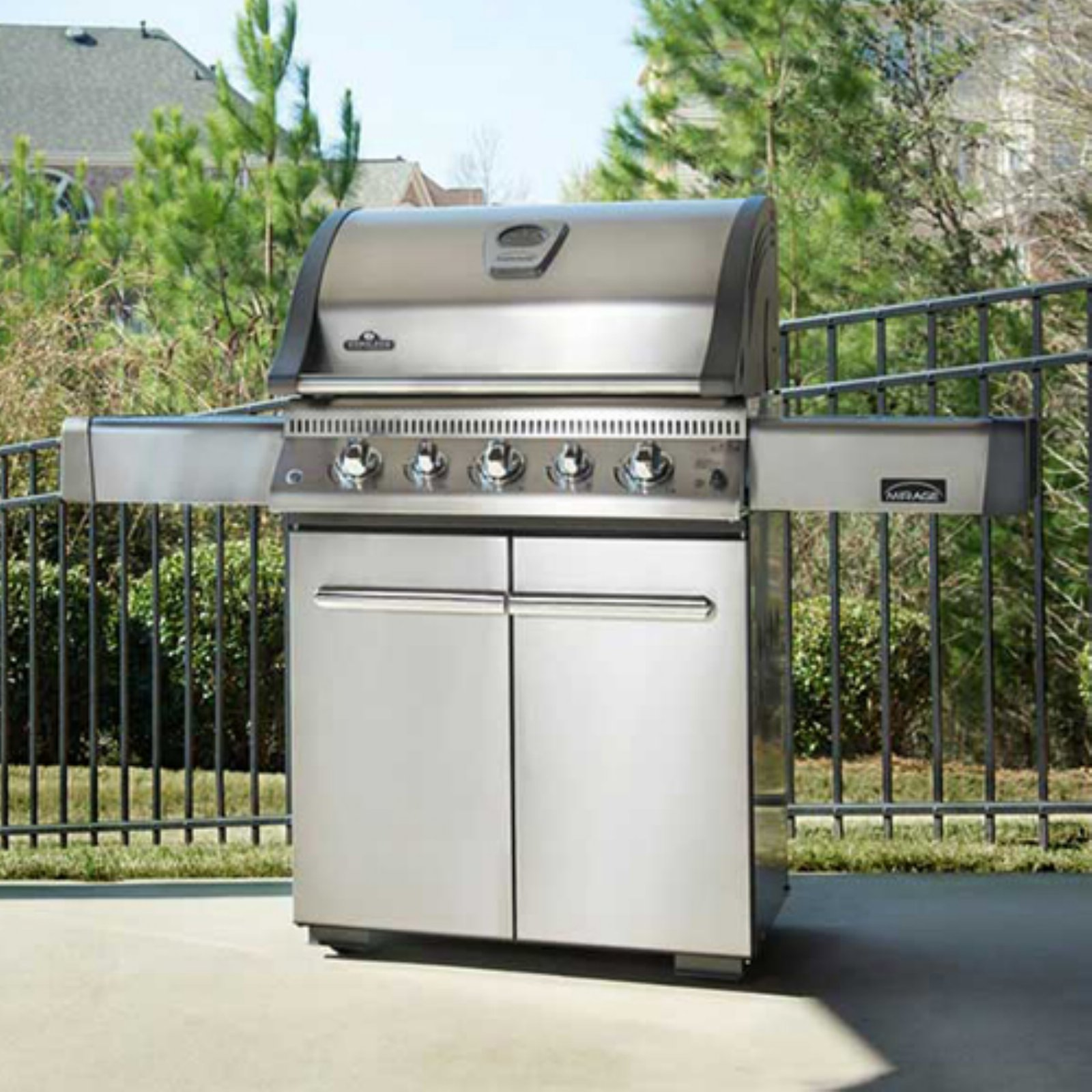 Napoleon Lex485rsib Propane Bbq Napoleon Lex485rsib Grill With Rear Infrared Burner And Infrared